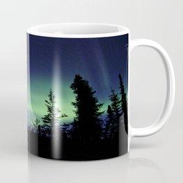 Aurora Borealis Landscape Coffee Mug