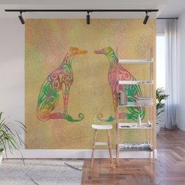 Lottinky Greyhounds - Summer Garden Wall Mural