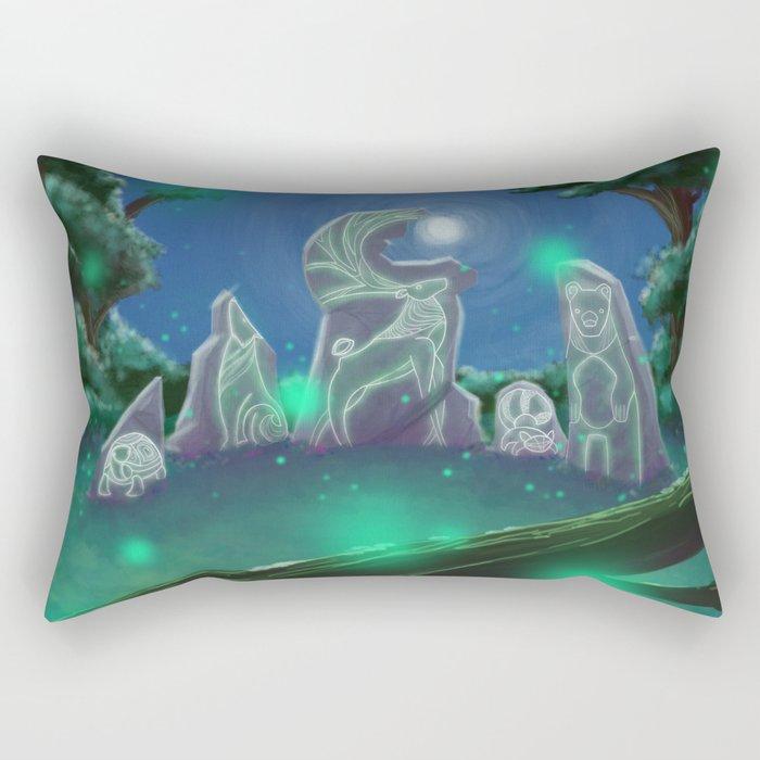 Forest Council Rectangular Pillow