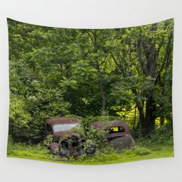 Long term parking Wall Tapestry