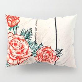 Prohibited roses II Pillow Sham