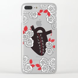 Always and Forever Clear iPhone Case