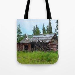 Alaskan Frontier Cabin Tote Bag