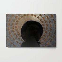 Pantheon Hat Metal Print