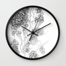 the floating fantasy Wall Clock