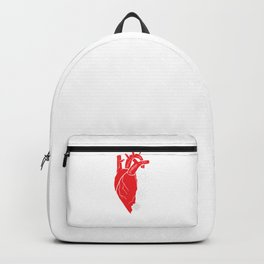 Anatomical Pacemaker Heart Awareness Surgery Gift Backpack