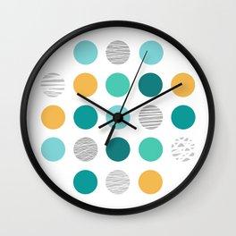 Dots 1 Wall Clock