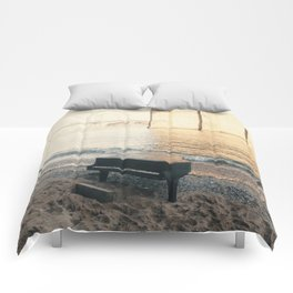 east river piano Comforters