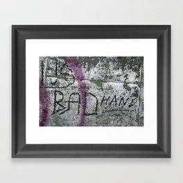 Bad Hand Framed Art Print
