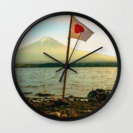 Japan - 'Japan Flag' Wall Clock