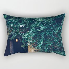 Into the Ivy, Down the Hall Rectangular Pillow
