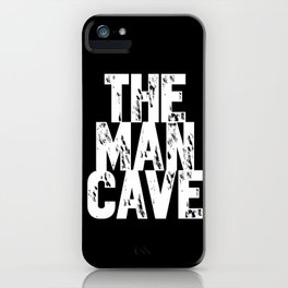 The Man Cave - inverse iPhone Case