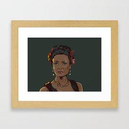 Westworld inspired Fan art of Maeve Framed Art Print