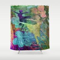 ballet Shower Curtains featuring Ballet by Vitta