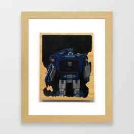 Smooth Operator  Framed Art Print