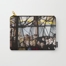 Stained Glass Window in Paris Carry-All Pouch