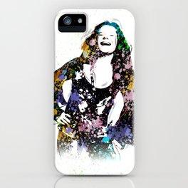 Janis - Piece Of My Heart - Pop Art iPhone Case