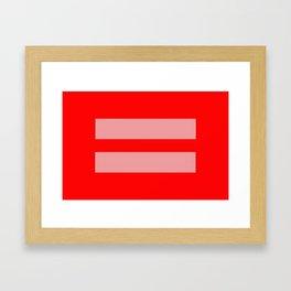 For All Framed Art Print