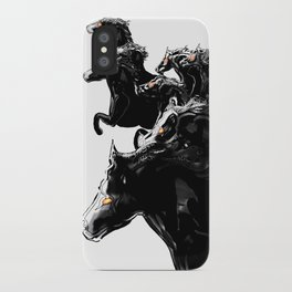Andromeda Horses iPhone Case