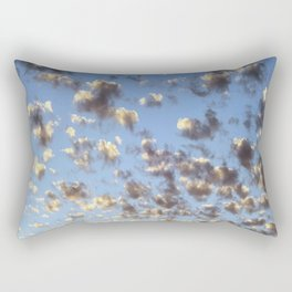 Summer Sunrise Clouds Rectangular Pillow