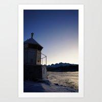 saltstraumen - lighthouse Art Print