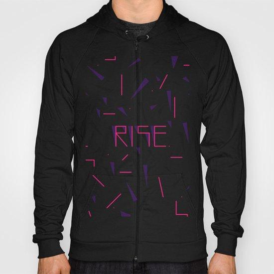Rise No.2 - White Hoody
