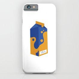Lando 4 Milk Carton iPhone Case