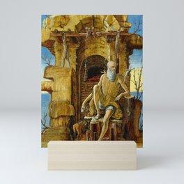 Ercole de'Roberti Saint Jerome in the Desert Mini Art Print