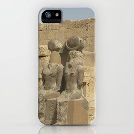 Temple of Medinet Habu, no. 3 iPhone Case