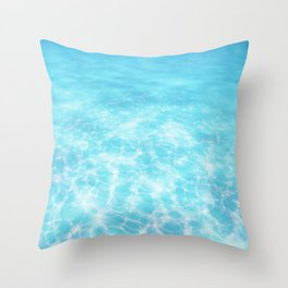 The Voice of the Ocean Throw Pillow
