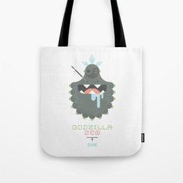 Godzilla Zen (Japan Contrasts series) Tote Bag