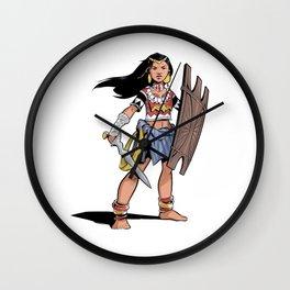 Filipina Wonder Wall Clock