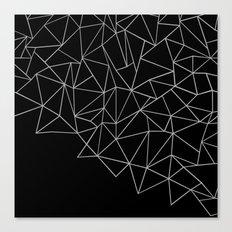 Ab Storm Black Canvas Print