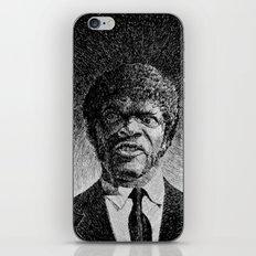 Jules Winnfield Portrait  Samuel L Jackson Pulp Fiction iPhone & iPod Skin