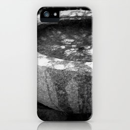 Water Basin iPhone Case