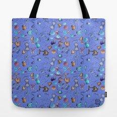 Sewing tools - azulados Tote Bag