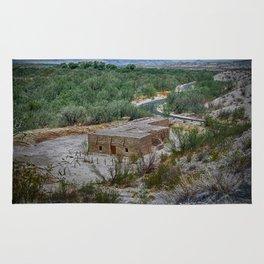 Hacienda in the Desert Rug