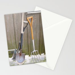 Awaiting Spring Stationery Cards