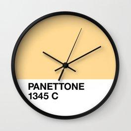 Panettone 1345 C Wall Clock