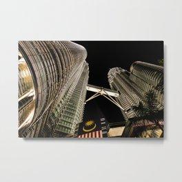 Petronas Twin Towers Metal Print