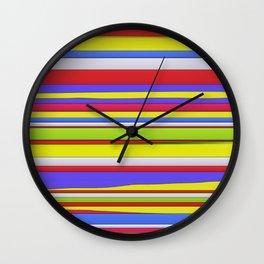 Hard horizons Wall Clock