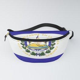 El Salvador flag emblem Fanny Pack