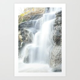 Scarbrough Waterfall Art Print