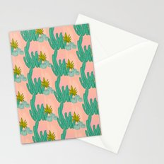 Cactus print Stationery Cards