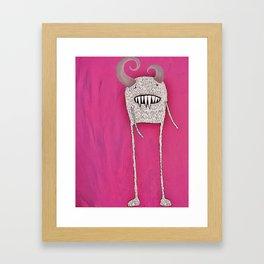 Mnstr Framed Art Print