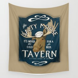 The Salty Moose Wall Tapestry