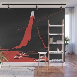 Comet FlyBy Wall Mural