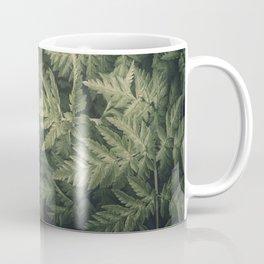 SHADED GREEN FERN Coffee Mug