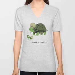 slow cooker Unisex V-Neck