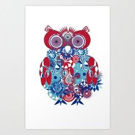 SPIRO OWL Art Print